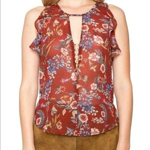 Willow & Clay Anthropologie Brand Top